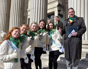Ahead of St. Patrick's Day, Springfield raises Irish flag, celebrates Ireland (photos, video)