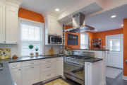 N.J. home makeover: Century-old home gets a new kitchen in a bold color
