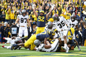 On Saturday in Columbus, Michigan and Ohio State will meet for the 115th time on the football field. The game will determine the Big Ten East Division champion, with the winner advancing to the conference title game against Northwestern and staying alive for a playoff spot. The stakes are high for The Game. Here are five reasons why Michigan will win.