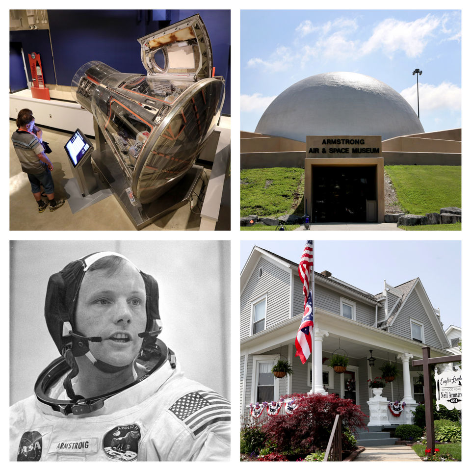 Wapakoneta honors hometown hero with giant leap of a celebration, 50 years after Neil Armstrong's 'one small step'