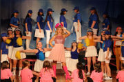 Scenes from Staten Island Children's Theatre's 'Legally Blonde' at Mount Loretto