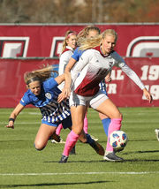 UMass women's soccer falls to Saint Louis, 3-0, at home (photos)